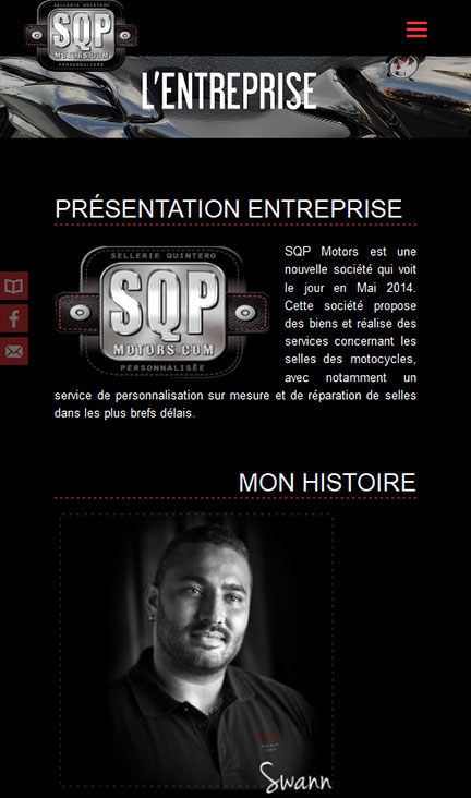 webdesign sqp home page
